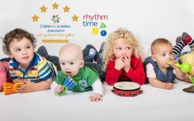 Rhythm time Newton Mearns  – toddler (Mon)