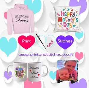 Print & Stitches - Personalised items for Mother's Day