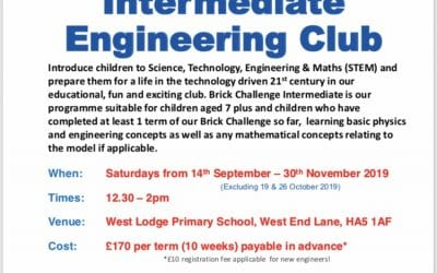 Lego Engineering Club – Brick Challenge Intermediate