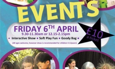 Mace Playce Mad Science Event