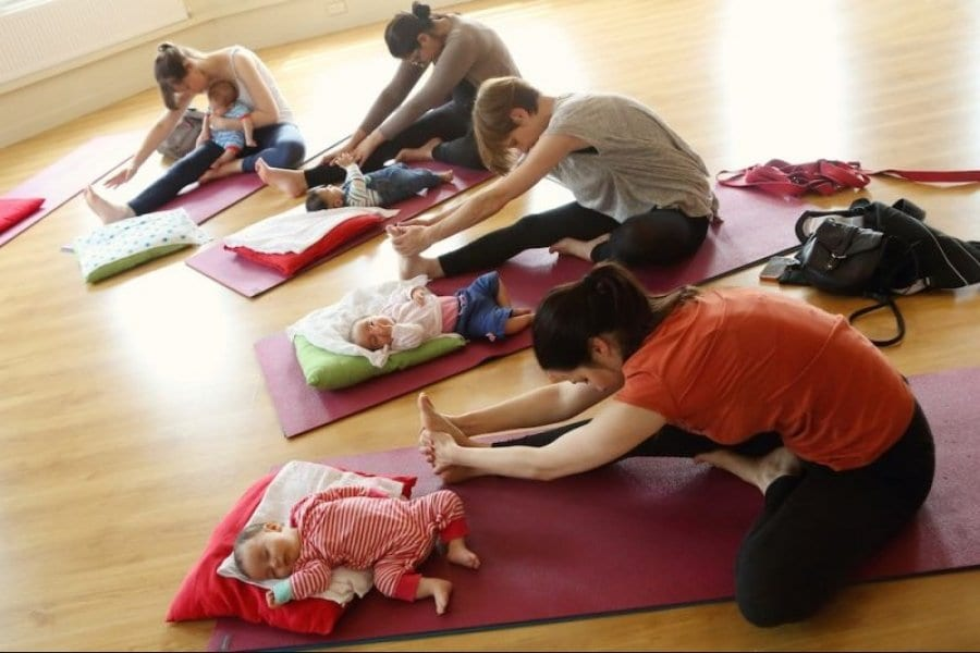 Yogabellies Baby and Mummy Yoga (Bournville)