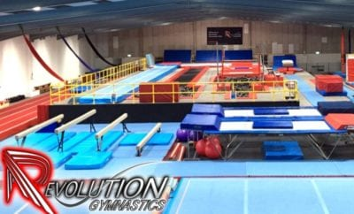 Revolution Gym Club (trampoline classes) Wed, 4pm