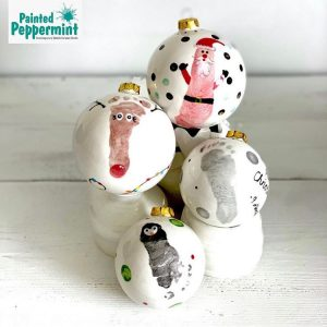 Painted Peppermint Christmas Kids Activities