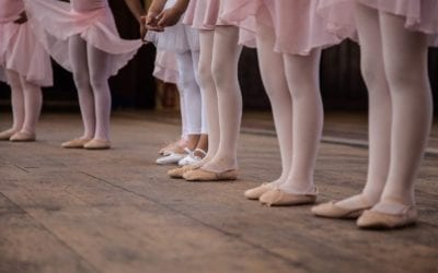 Baby Under 5's Ballet, Mon 3pm (St Mary's)