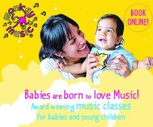 Brand New Kids Clubs - Monkey Music Chichester Havant and Petersfield