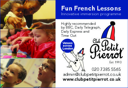 Club Petit Pierrot's Holiday Club in Chelsea (St Luke's Church Hall)