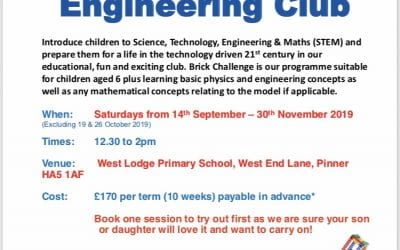 Lego Engineering Club – Brick Challenge Beginners