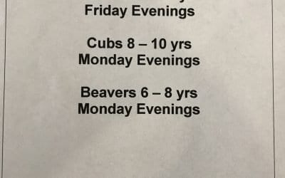 Bassaleg Beavers, Cubs and Scouts