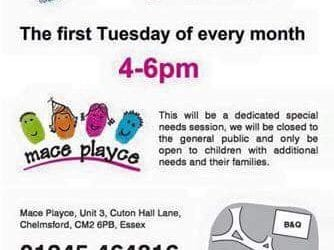 Mace Playce soft play – special needs evening