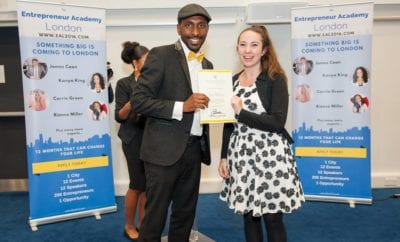 Tessa Robinson – Founder of Club Hub Graduates from the Entrepreneur Academy