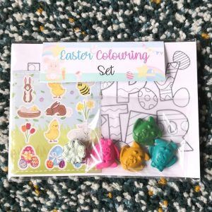 Waddys Wax Crayon - Easter Colouring Set