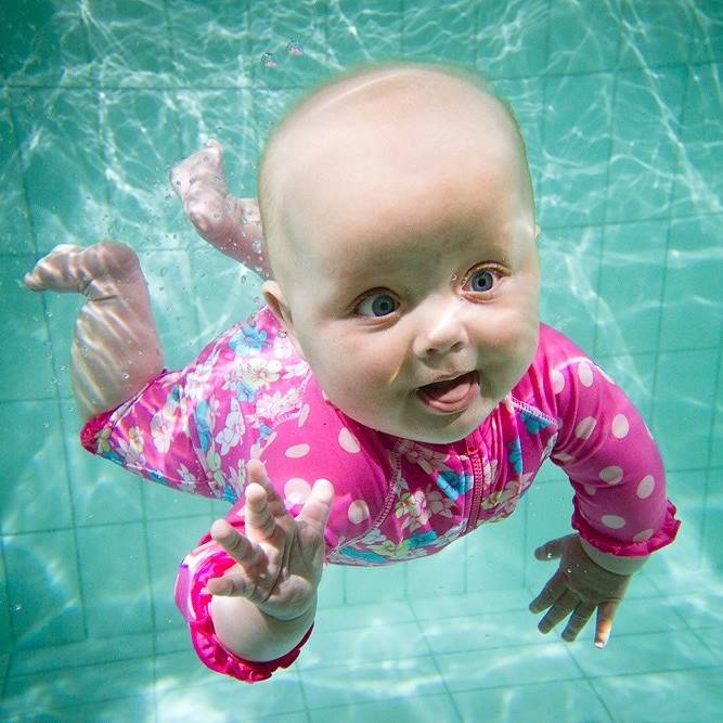 Aqualympic Baby Swimming Lessons - Selly Oak