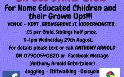 Circus Skills for Home Educated Children and their Grown ups!