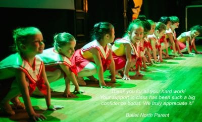 Ballet North – Creative and Friendly Classes to Get Children Moving
