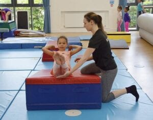 When should a child start gymnastics?