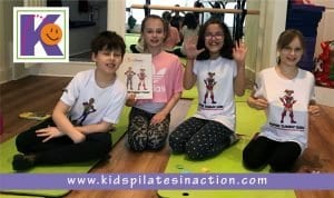 Kids Pilates in Action