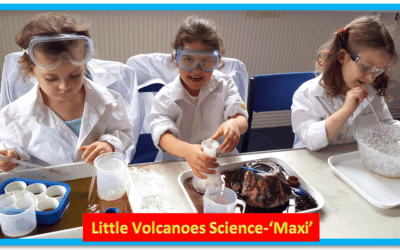 Little  Volcanoes Science Club Maxi