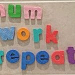 Mum Work Repeat