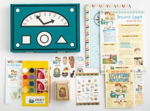 kids activity boxes Mysteries in Time