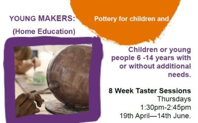 Pottery Sessions for Home Education Students
