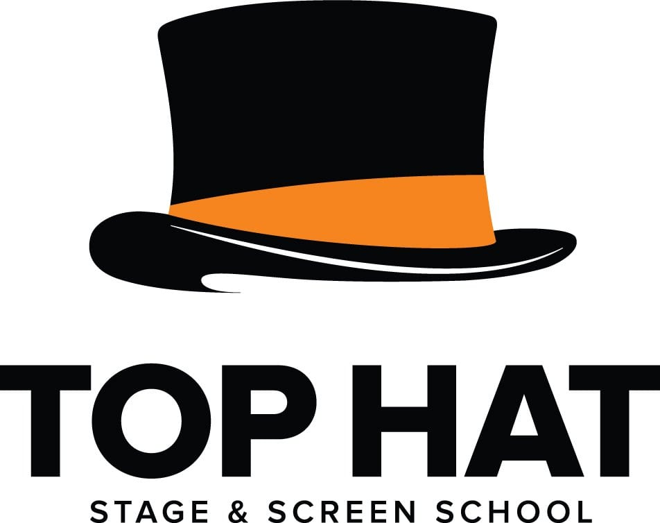 Image result for top hat drama club logo
