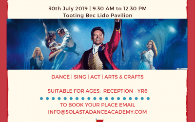 Greatest Showman Dance Workshop