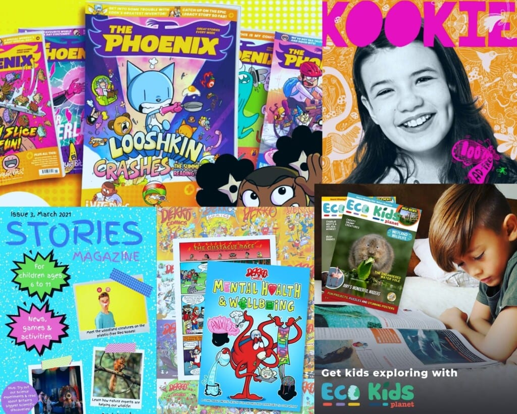 The Best Magazines for Kids in the UK
