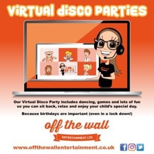 Birthday Party Ideas During Lockdown - Introducing 'Virtual Disco Parties!'
