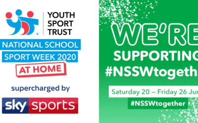 YST National School Sport Week at Home 2020 supercharged by Sky Sports: Key messaging