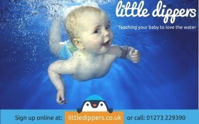 Little Dippers baby swimming – Brighton