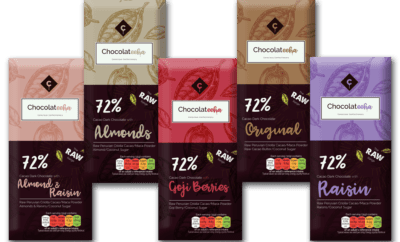 Win a Gift Box of all 5 Flavours of Chocolateeha's Raw Chocolate Bars