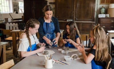 Coalport China Museum – Paint/sculpt clay