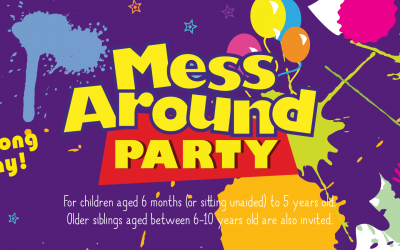 Messy Play Red Lodge – Mess Around Party
