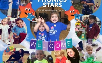 Phonics Stars™ – classes for children in their early years
