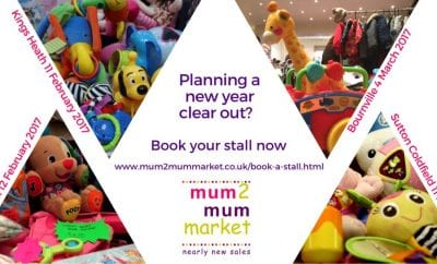 Mum2Mum Market – Planning a New Year Clear Out?