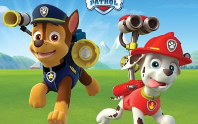 Drusillas park – Chase and Marshall from PAW Patrol