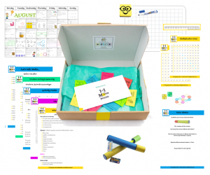 1to1 Maths subscription box