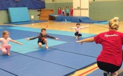 Spring Tots (Pre-school gymnastics)