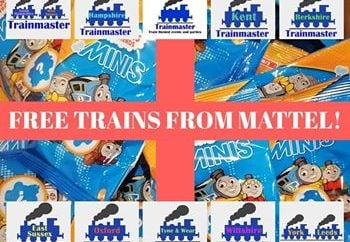 Thomas the Tank Engine send free trains to Trainmaster to giveaway!