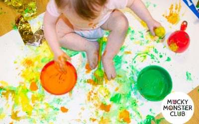 Mucky Monster Club Messy Play – Hazel Grove