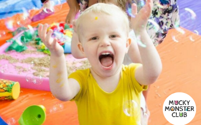 Mucky Monster Club Messy Play – Heaton Mersey